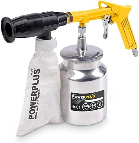Varo Perslucht zandstralen pistool inclusief 2 kg zand