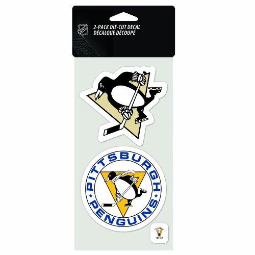 NHL Pittsburgh Penguins 2-Piece Die-Cut Decal, 4