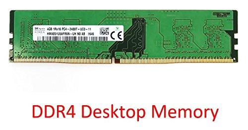 Hynix 4GB PC4-19200 DDR4 2400MHz 288-Pin Dimm Desktop Memory Module Mfr P/N HMA851U6AFR6N-UH