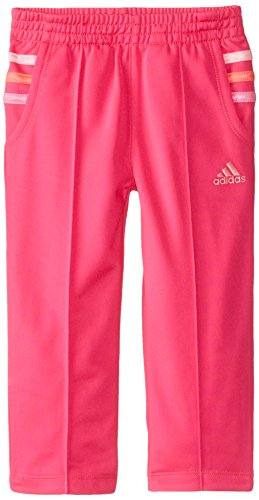 adidas Little Girls' Performance Pant, Pink Glo, 6X