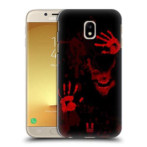 Head Case Designs Screen Halloween Mix Hard Back Case Compatible for Samsung Galaxy J3 (2017)]()