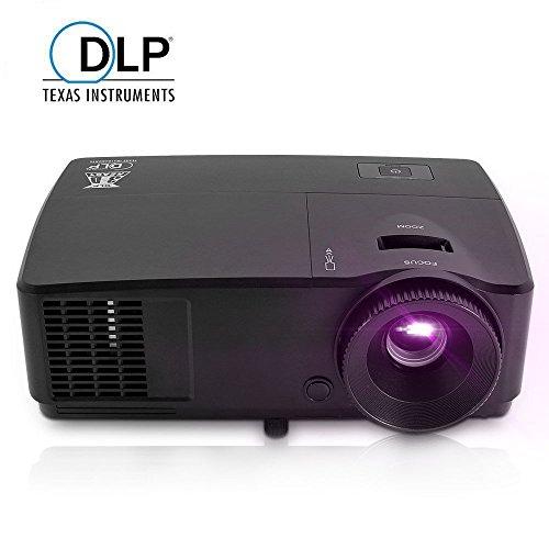 EUG Portable HD DLP 3600 Lumens High Lumens 3D Ready Proj...