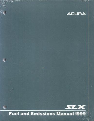 1999 Acura SLX Fuel and Emissions Manual Original