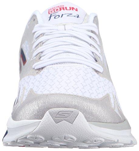 GO Skechers Zapatillas Hombre Forza Blanco de Run Running awqvwdz