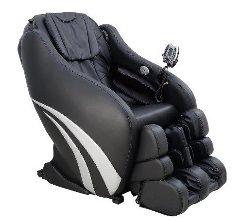 Markteinführungspreis - Multifunktions-Massagesessel | Massagestuhl schwarz mit Shiatsu Massage Welcon Prestige 3D Zero Gravity mit Heizung, integriertem Sound-System und Stereo Lautsprechern, kompatibel mit iPhone, Android oder Tablet-PC