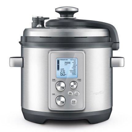 Breville 6-qt. Brushed Stainless Steel Fast Slow Pressure Cooker