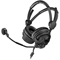 Sennheiser HMD 26-II-600-8 Broadcast Headset, 600 Ohm Impedance, ActiveGard, Dynamic Microphone