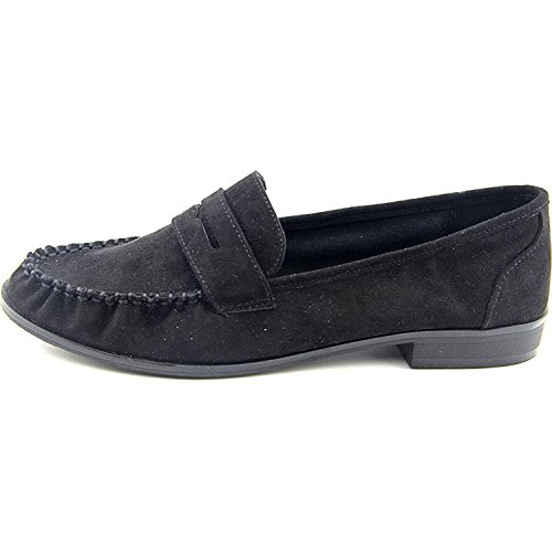 Amerikaanse Rag Womens Tpeggi Gesloten Teen Loafers Zwart