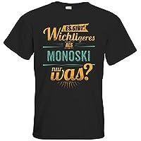 getshirts - RAHMENLOS® Geschenke - T-Shirt - Sportart Monoski - es gibt...