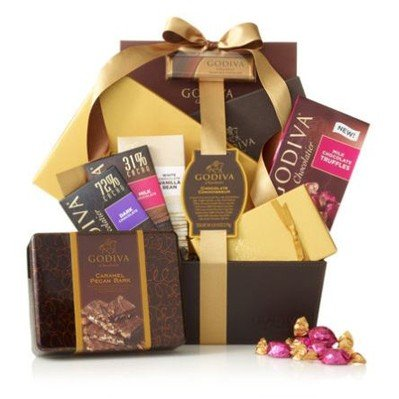 Chocolate Connoisseur Gift Basket by Gift Basket