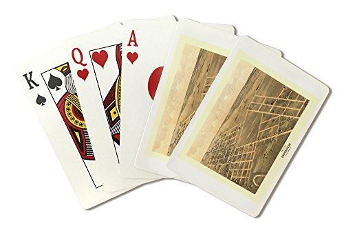 Brookfield, Missouri - Panoramic Map (Playing Card Deck - 52 Card Poker Size with Jokers) -