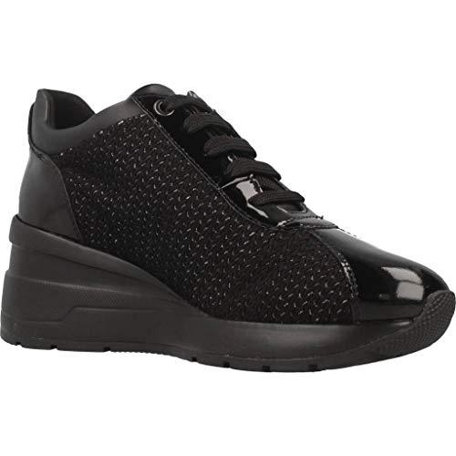 D Zosma Mujer A Para C9999 Negro black Zapatillas Geox Tdgqxd