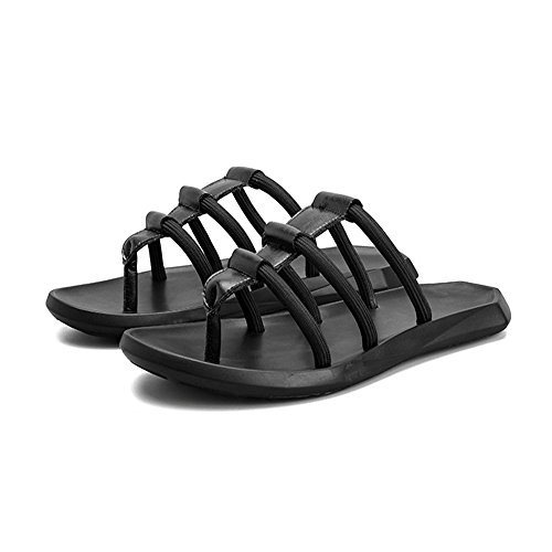 Antiscivolo spiaggia da Pantofole Colore 1 Per Wagsiyi Scarpe Sandali 3 Pantofole Bianca EU Uomo Da pantofole 41 Nero Dimensione q1x4XH