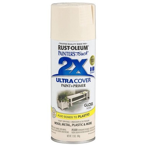 Rust-Oleum 249110 Painter's Touch Multi Purpose Spray Paint, 12-Ounce, Ivory