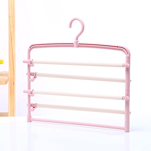 LIANGJUN Pants Scarf Hangers Drying Rack Multifunctional Pac