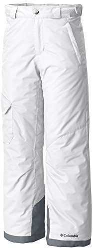Columbia Youth Bugaboo Pants, Small, White