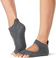 ToeSox Women's Bellarina Half Toe Grip Yoga Pilates Barre Toe S