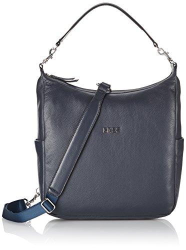 BREE Nola 6 - Bolso de mano, Mujer Azul (Blue 250)