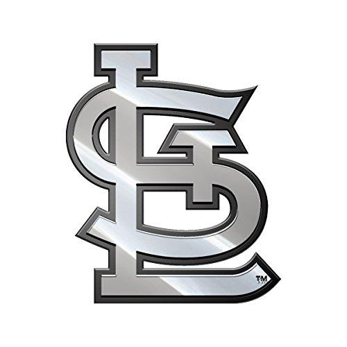 MLB St. Louis Cardinals Metal Emblem, One Size, One - St Premium Louis
