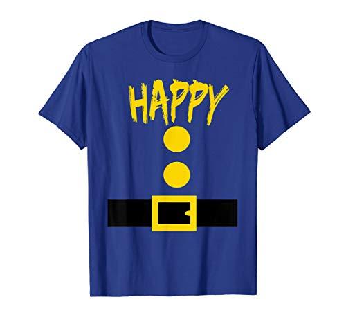 Dwarf Costume T-Shirt - Funny Halloween Gift Idea - Happy