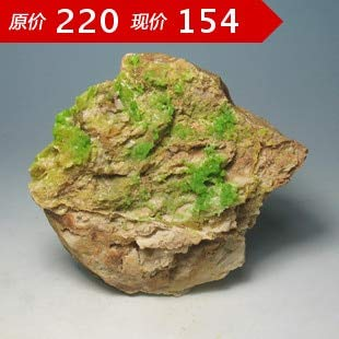 ZAMTAC Pyromorphite Natural Mineral Crystals Teaching Specimen Collections odd Stone Rock ()