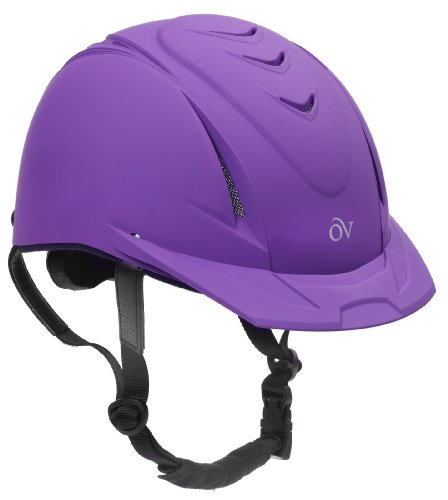 Ovation Deluxe Schooler Helmet Black with Black Vents M/LG