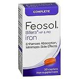 Feosol Bifera Iron Caplets Complete 30 ea (Pack of 4)
