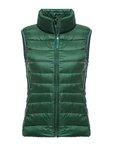 Zixing Packable Ultra Verde Cappotto Piumino Giubbotto Gilet Delle Donne Giù Leggero 1 Wnq54Cwv05