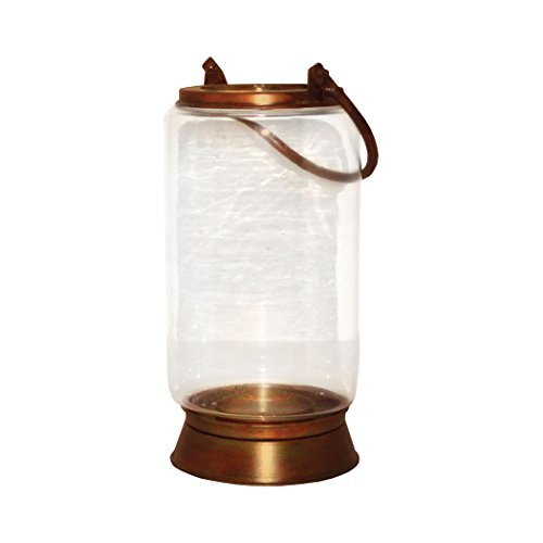 Traditional Décor Collection Taos Small Lantern In Burned Copper