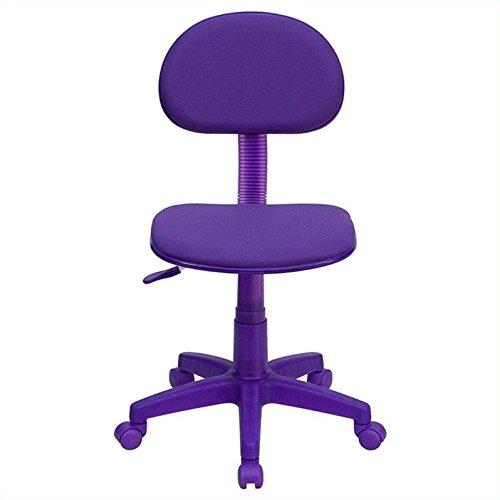 Flash Furniture BT-698-PURPLE-GG Purple Fabric Ergonomic Tas