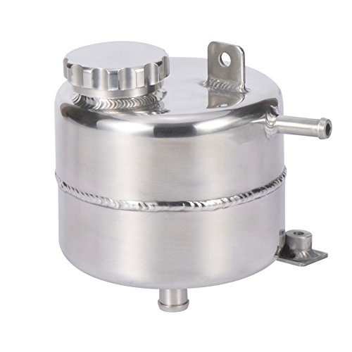 Aluminium Radiator Coolant Water Overflow Expansion Tank Reservoir for Mini Cooper S R52 R53 (Polished) ()