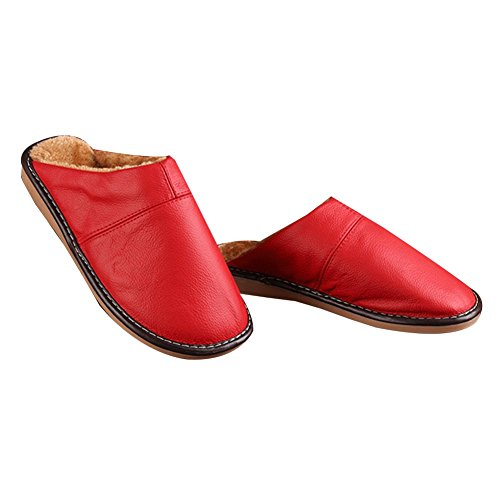 red femme TELLW Chaussons Chaussons TELLW pour pour TELLW red femme Chaussons vTvxwzqP64