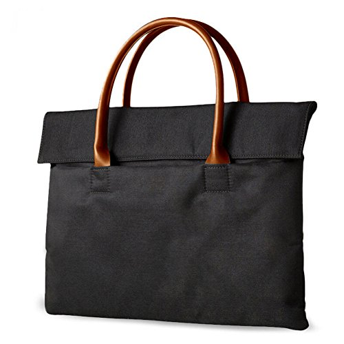 HaloVa Laptop Bag, Unisex Tote Bag for Laptops up to 13 Inch