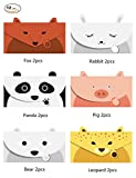 JINSRAY Cute Lovely Animal Cartoon Design Letter