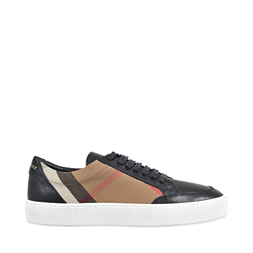 Burberry Damen Sneaker Beige Check + Nero