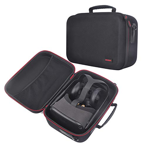 Fashion Travel Case for Oculus Quest with Customizable Foam Compatible with Oculus Quest VR Headset and Quest…