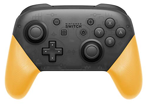DIY Replacement Grip Shell for Nintendo Switch Pro Controller, Colorful Anti-Slip Hand Grip Shell Cover for Nintendo Switch Pro Controller with a Screwdriver (Yellow) (Medium Shell Grip)