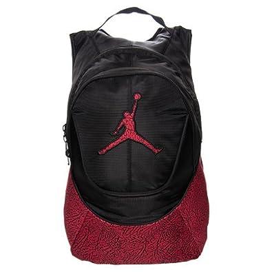 c243bc35d3e2 ジョーダンリュックサック Elephant Nike Air Jordan Jumpman Backpack - Red/Black Elephant  Pattern [