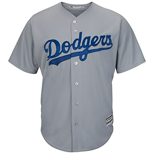 buy online 24a9c 7e80d Clayton Kershaw Los Angeles Dodgers MLB Majestic Youth Gray ...