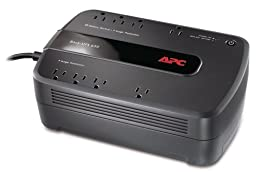 APC Battery Backup & Surge Protector (BE650G1) - 650VA 8-outlet Uninterruptible Power Supply (UPS)