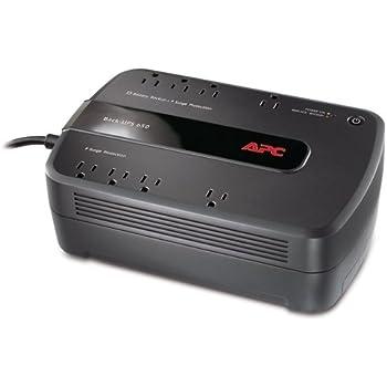 APC Back-UPS 650VA UPS Battery Backup & Surge Protector (BE650G)