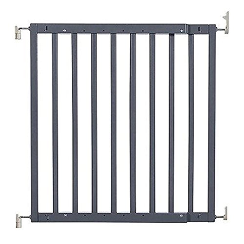 """Primetime Petz Safety Mate Expandable Pet and Baby Gate, Sturdy Wall Mountable Safety Gate for Hallways, Stairs, or Outdoor Use, Fits Openings from 24.5"""" to 41"""", Grey by Primetime Petz (Image #3)"""