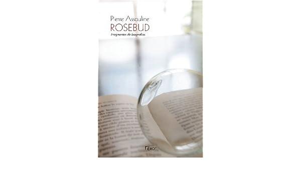 Rosebud. Fragmentos de Biografia (Em Portuguese do Brasil): Pierre Assouline: 9788532525000: Amazon.com: Books