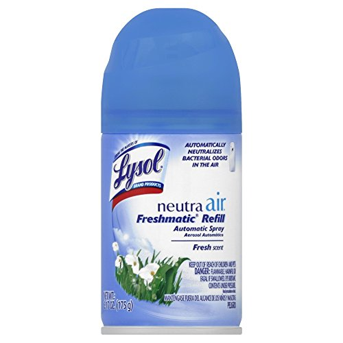 (Lysol Neutra Air Freshmatic Automatic Spray, Fresh Scent, 6.17oz, Air Freshener, Odor Neutralizer(Packaging may)