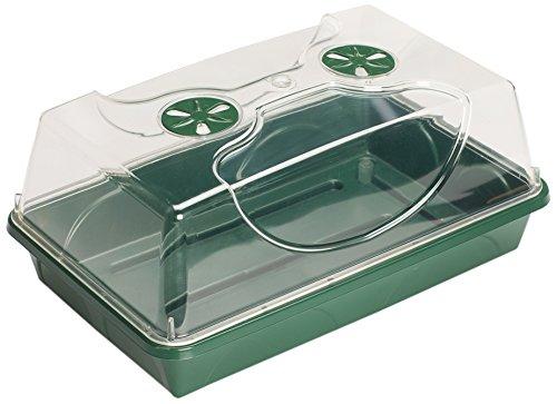 EarlyGrow MPL50031/P Medium Propagator Green 38 x 24 x 18 Centimetres Malton Plastics