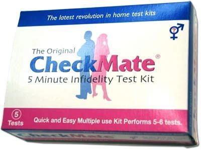 - Check Mate Infidelity Test Kit - 10 Tests - Check your spouse, boyfriend, girlfriend, partner.