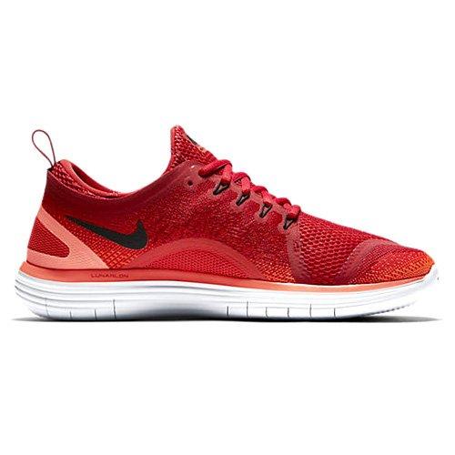 Distancia Rn 2 Corriendo Zapatilla Nike Libre De Los Hombres De Color Rojo / Negro - Naranja Máximo 100% autentico Amplia gama de precios baratos Envío gratis Eastbay hbBlsgjVX
