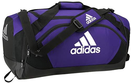 adidas Team Issue Medium Duffel Bag, Collegiate Purple, One Size