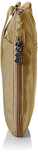 Bogner Damen Sole M Umhängetasche, 7x24x25 cm Braun (Bronzo Verde)