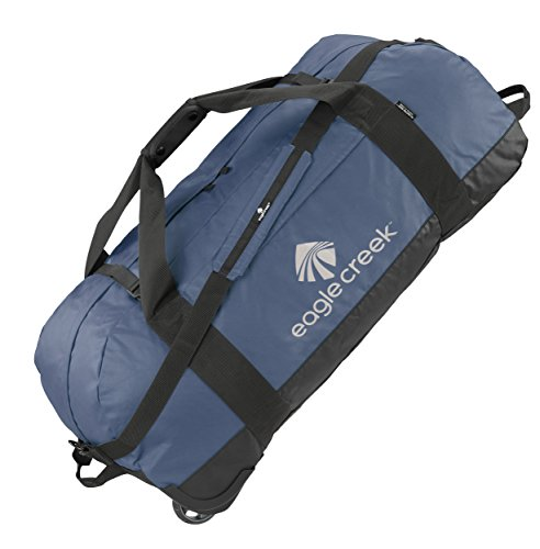 Eagle Creek Travel Gear Luggage No Matter What Flashpoint Rolling Duffel XL, Slate Blue